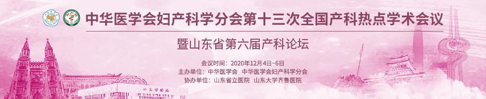 中华医学会妇产科学分会第十三次全国产科热点学术会议暨山东省第六届产科论坛
